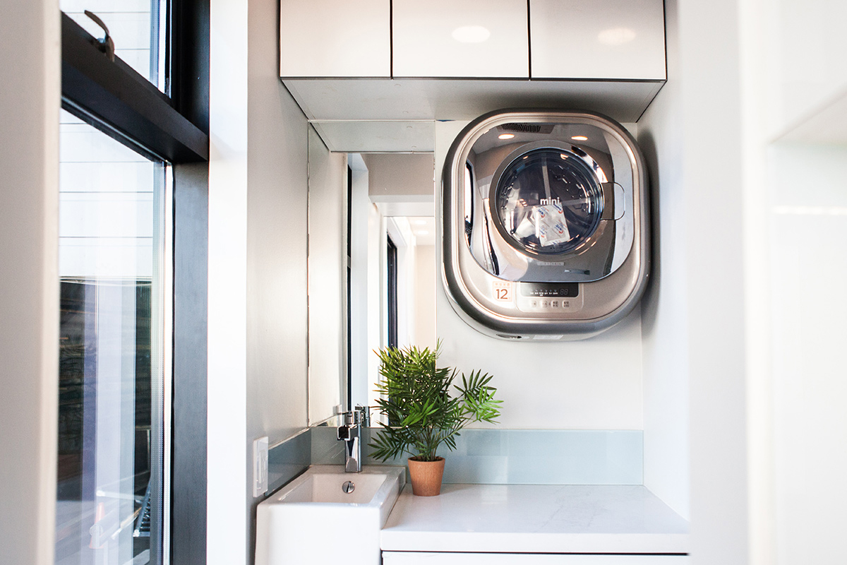 IQ Homes Built-in Washer